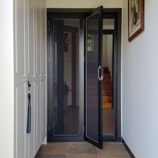 170725 수원 이목동 전원주택 출입구 접이문 (블랙)